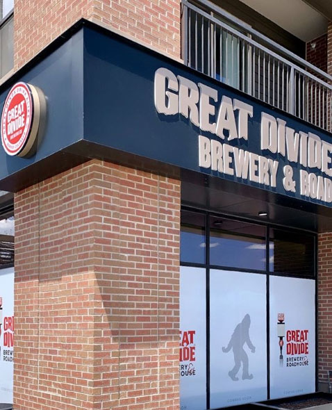 GREAT DIVIDE BREWERY & ROADHOUSE OPENING JUNE 1